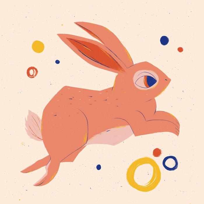 Festive Easter Bunny