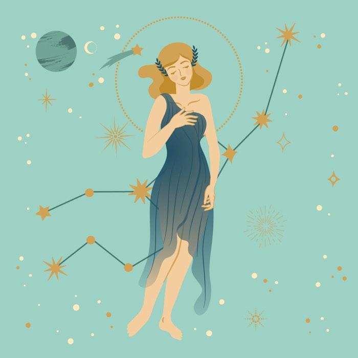 Virgo zodiac star sign
