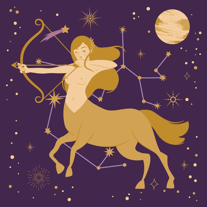 Sagittarius zodiac star sign