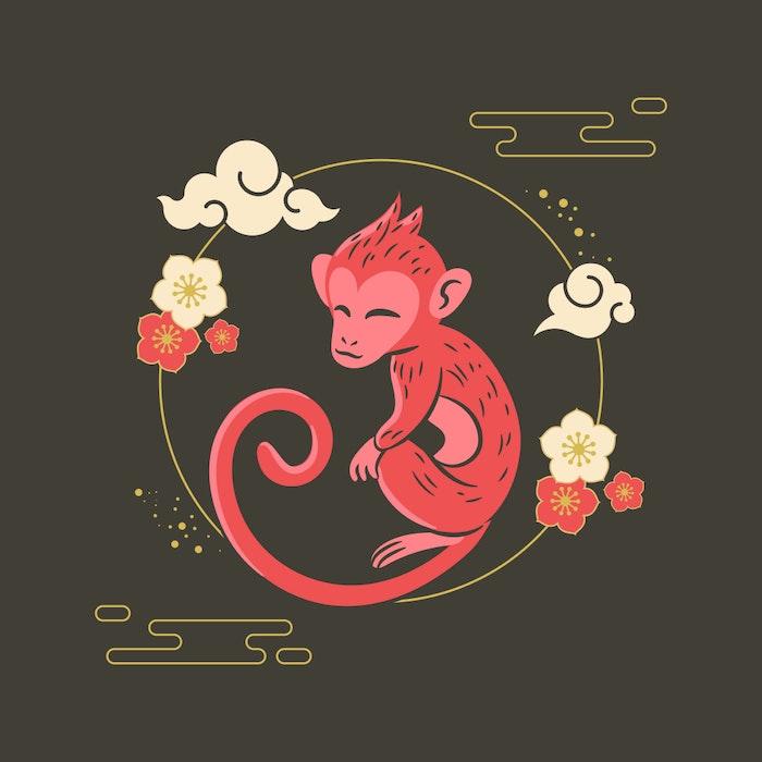 Chinese Zodiac Year of the Monkey