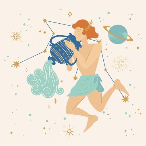 Aquarius zodiac star sign