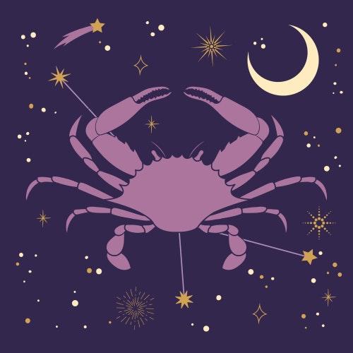Cancer zodiac star sign