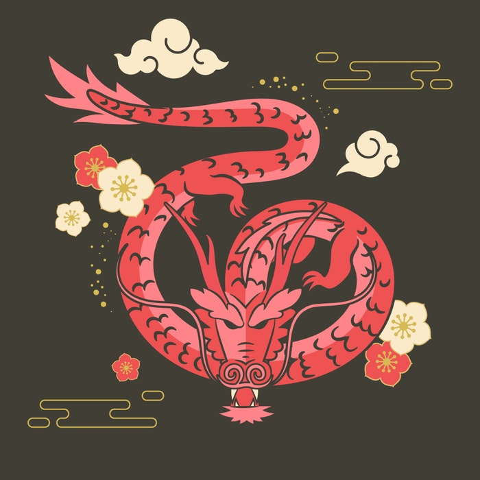 Chinese Zodiac Year of the Dragon
