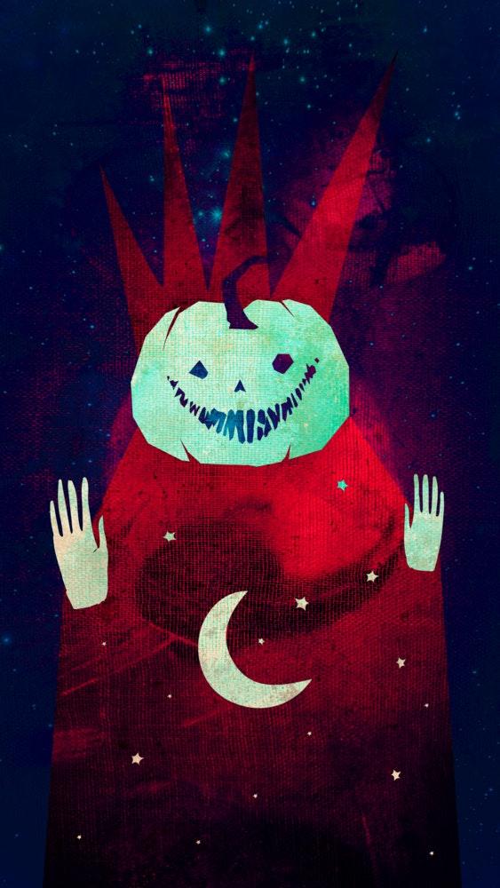 Creepy Halloween Jack O'Lantern