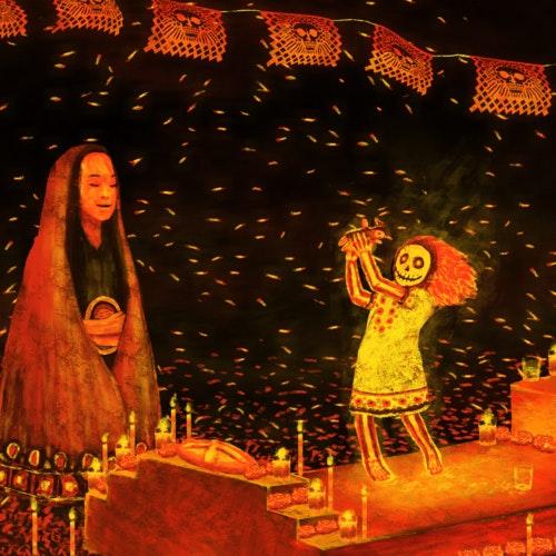 Día de Muertos ritual