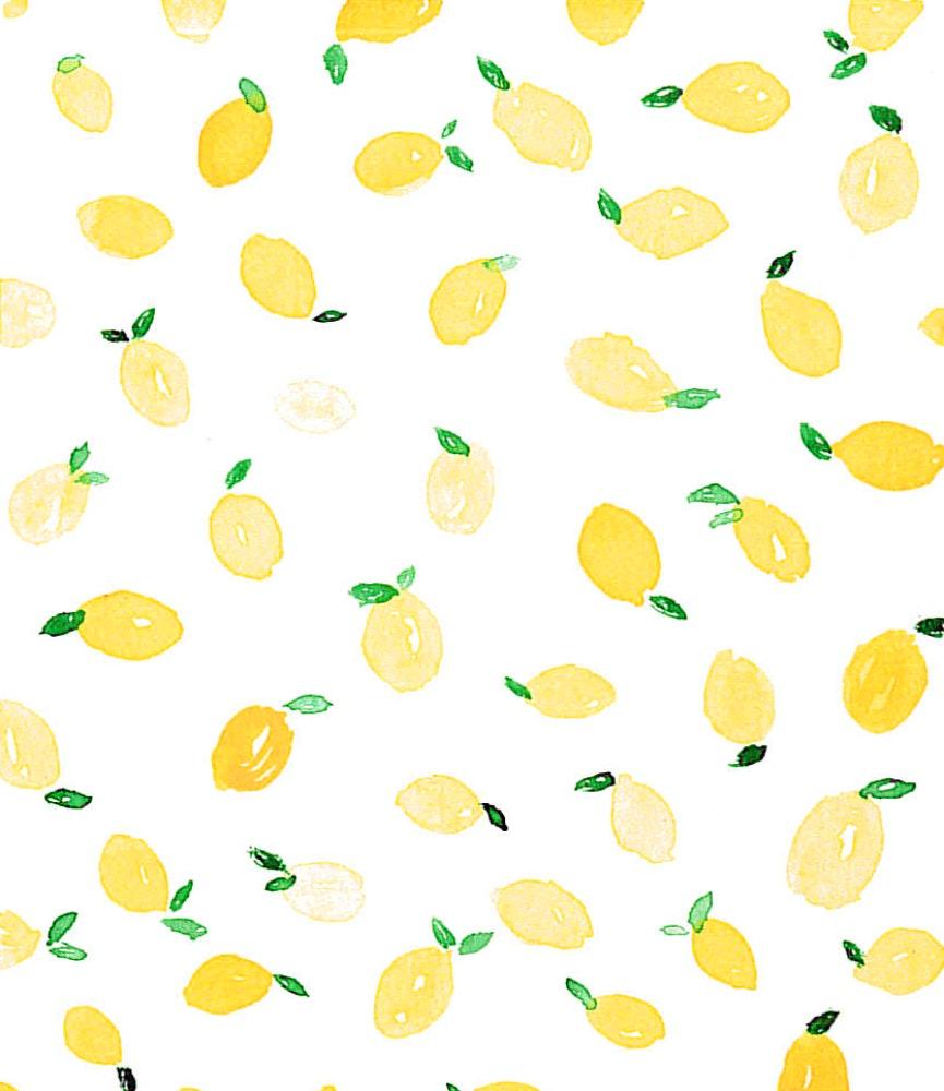 Freshly picked Lemons
