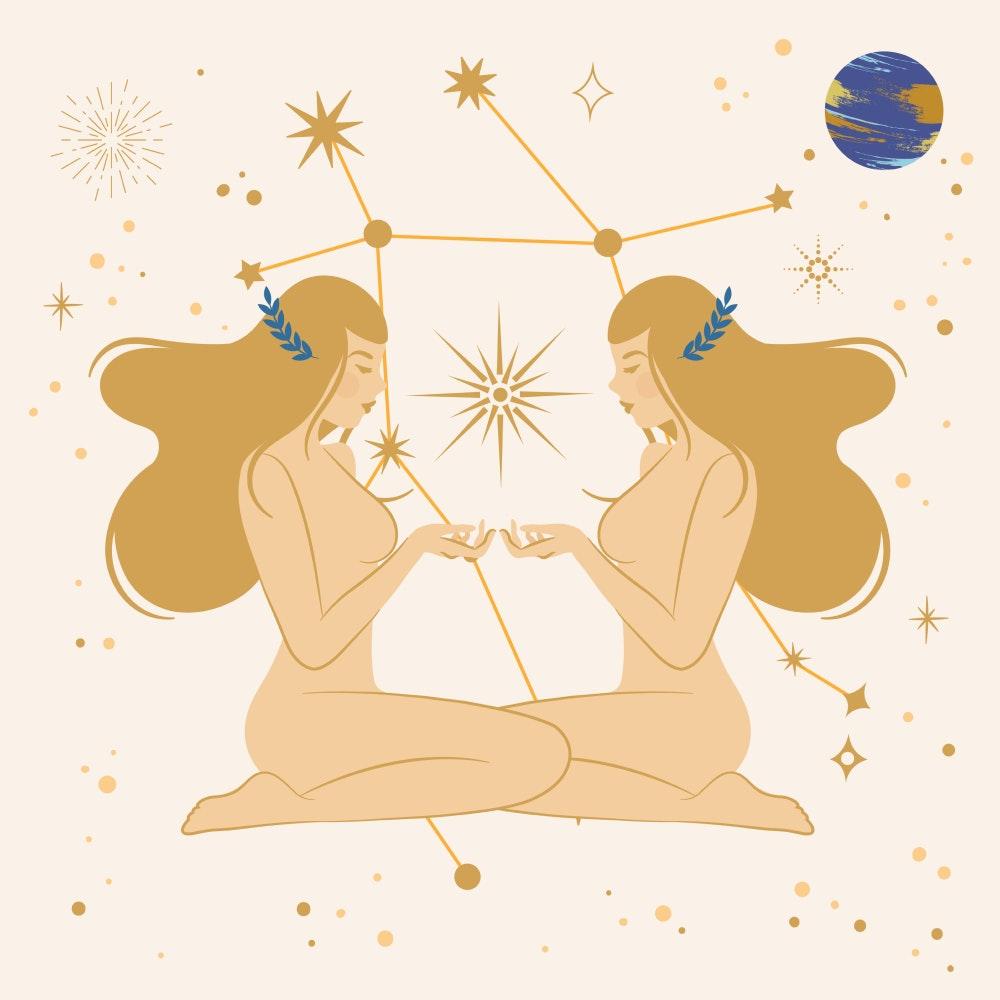 Gemini zodiac star sign