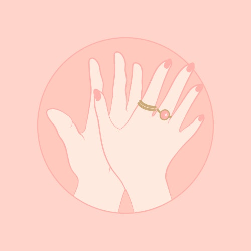 High five hand gesture