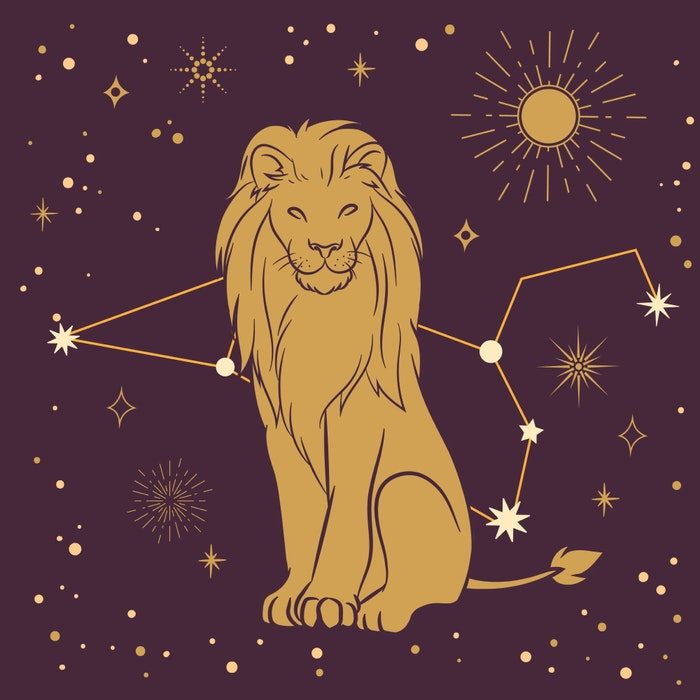 Leo zodiac star sign