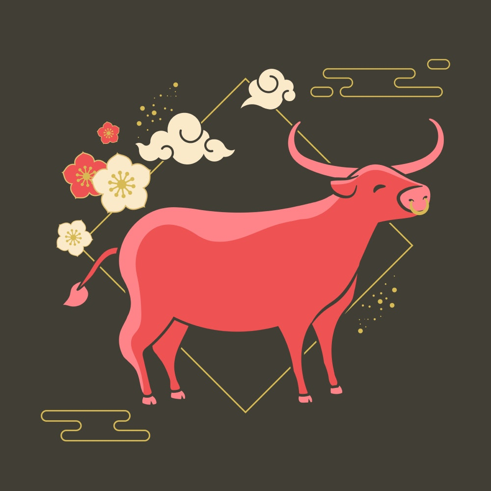 Year of the Ox Chinese Zodiac