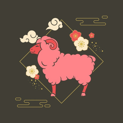 Year of the Sheep / Goat Chinese Zodiac