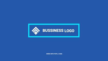 Boxed Shape Logo Reveal
