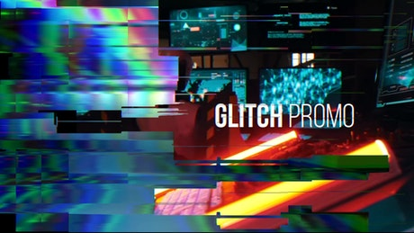 Colorful Glitch Opener