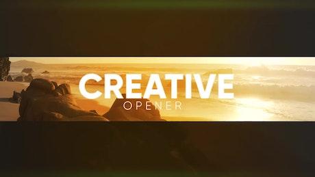 Creative Modern Opener