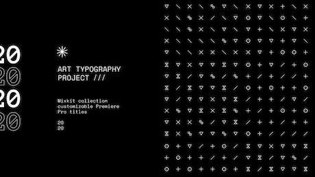 Cube Glyph Title
