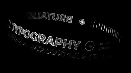 Digital Glyph Title