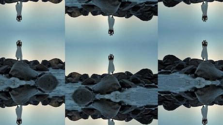 Frame Split Transition