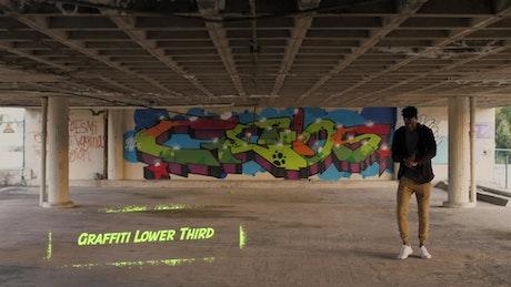 Graffiti Stencyl Lower Third