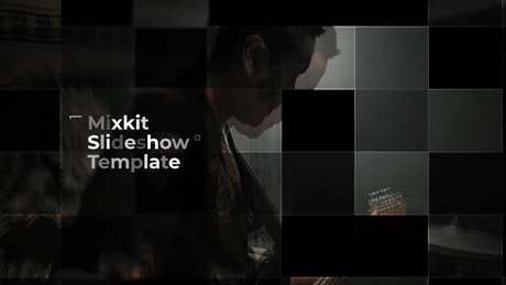 Grid Photo Slideshow