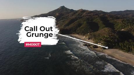 Grunge Callout Box
