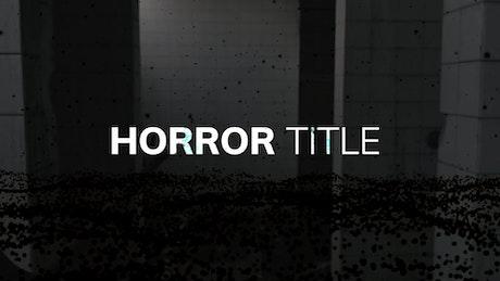 Horror Title
