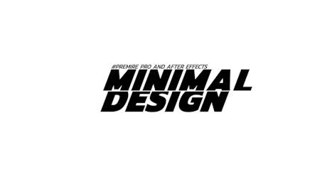 Minimal design slide title