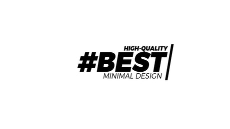 Minimal design title