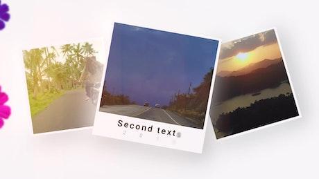 Polaroid Style Slideshow