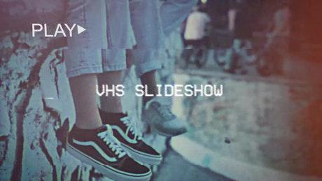 Retro VHS Slideshow