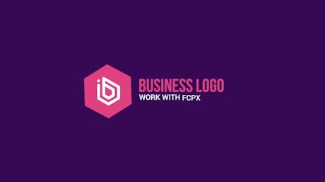Shape Animation Business Logo