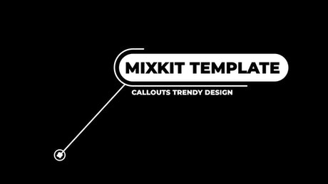 Trendy design call-out