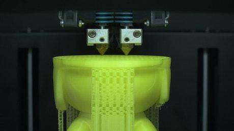 3D Printer creating a model
