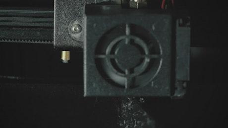 3D Printer engine working