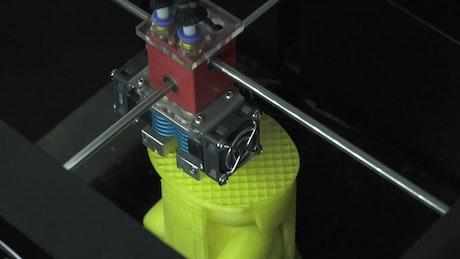 3D Printer forming a model