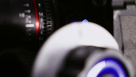 8K Camera in use