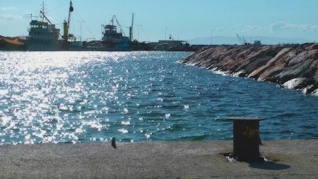 A quiet dock