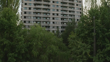 Abandoned building in Pripyat