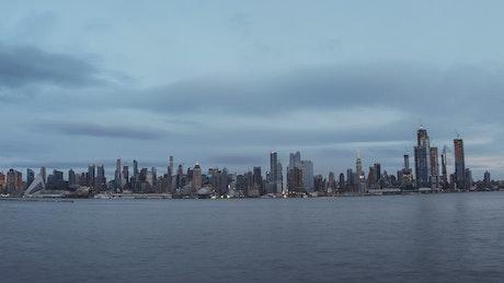 Across new York after rainfall