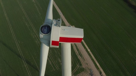 Air turbine for alternative energy under construction
