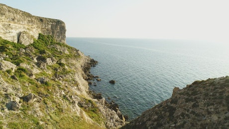 Along the English coast