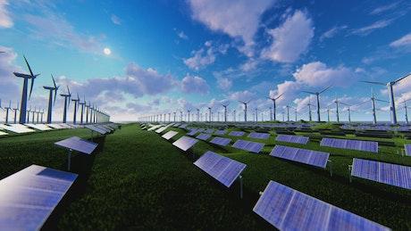 Alternative renewable energy generation field