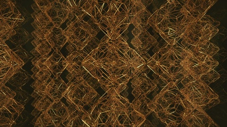 Among towers with golden Voronoi-style structures