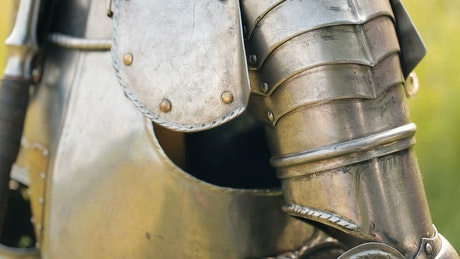 Ancient armor of the middle ages