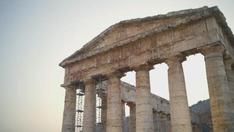 Ancient building in Acropolis