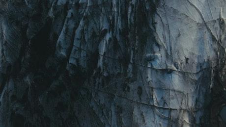 Ancient glacier in Iceland