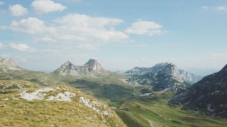 Ancient mountain landscape