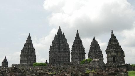 Ancient temple time lapse