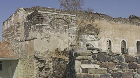 Ancient village remains