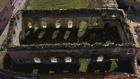 Ancient walls of a temple