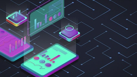 Animation of futuristic devices